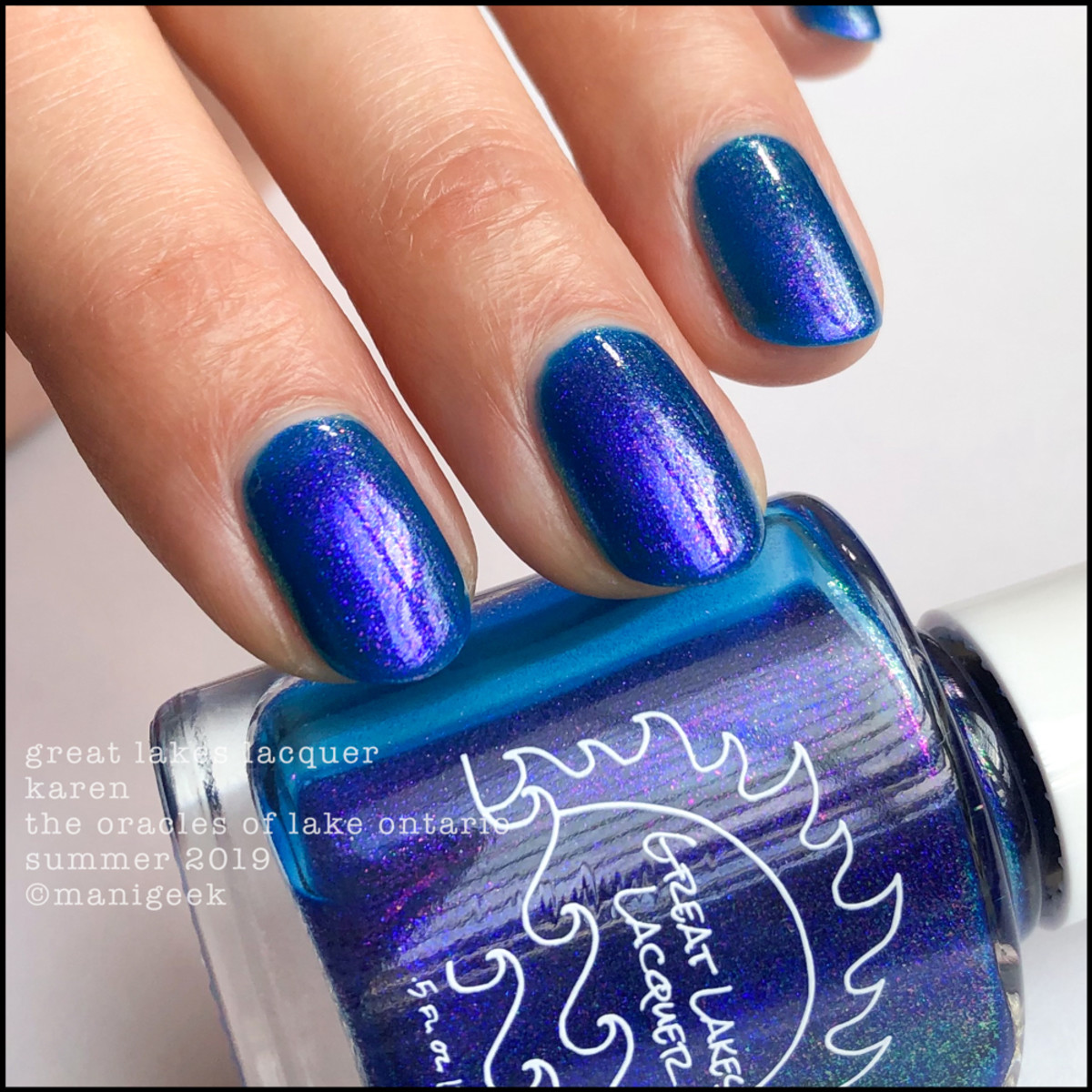 Great Lakes Lacquer Oracles of Lake Ontario Karen - LE IEC 2019 4