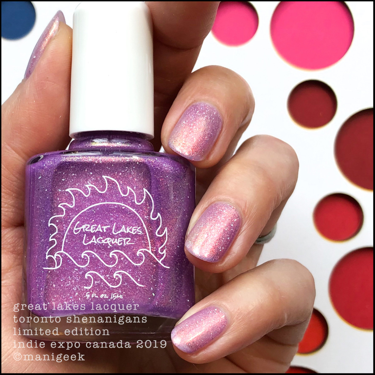 Great Lakes Lacquer Toronto Shenanigans - LE IEC 2019 1