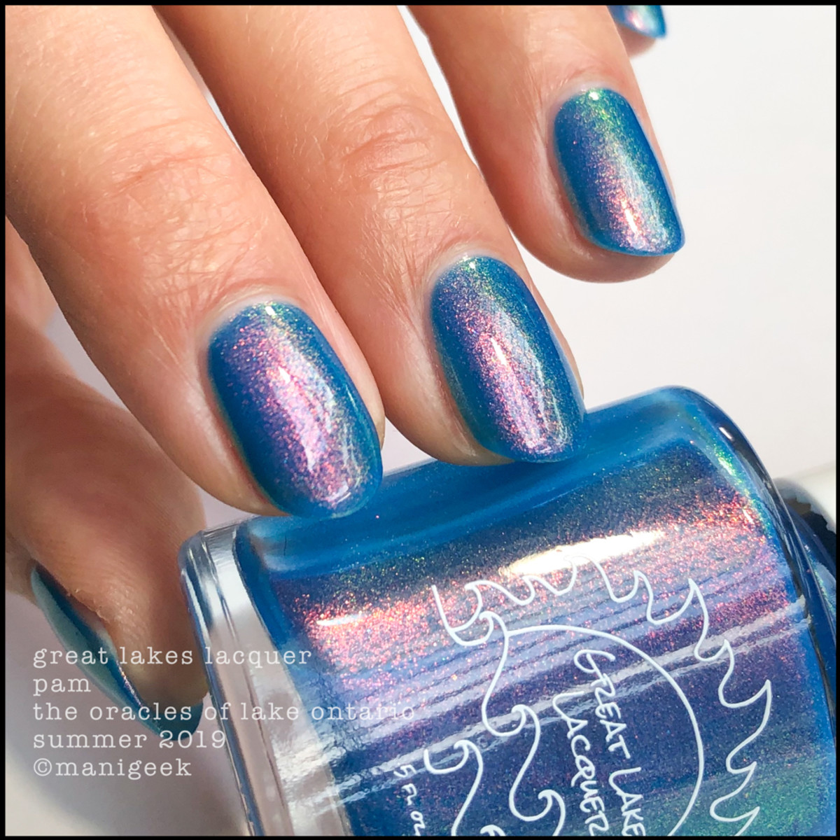 Great Lakes Lacquer Oracles of Lake Ontario Pam - LE IEC 2019 2