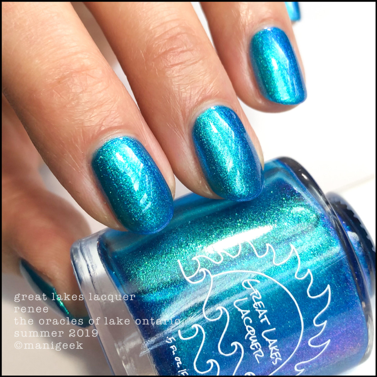 Great Lakes Lacquer Oracles of Lake Ontario Renee - LE IEC 2019 1
