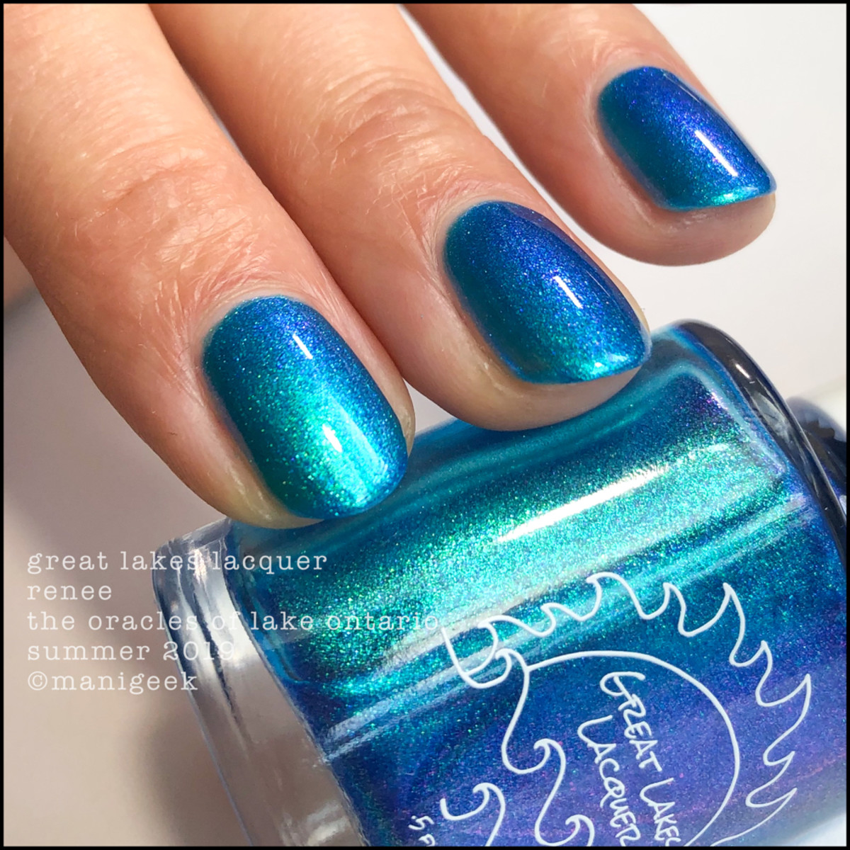 Great Lakes Lacquer Oracles of Lake Ontario Renee - LE IEC 2019 3
