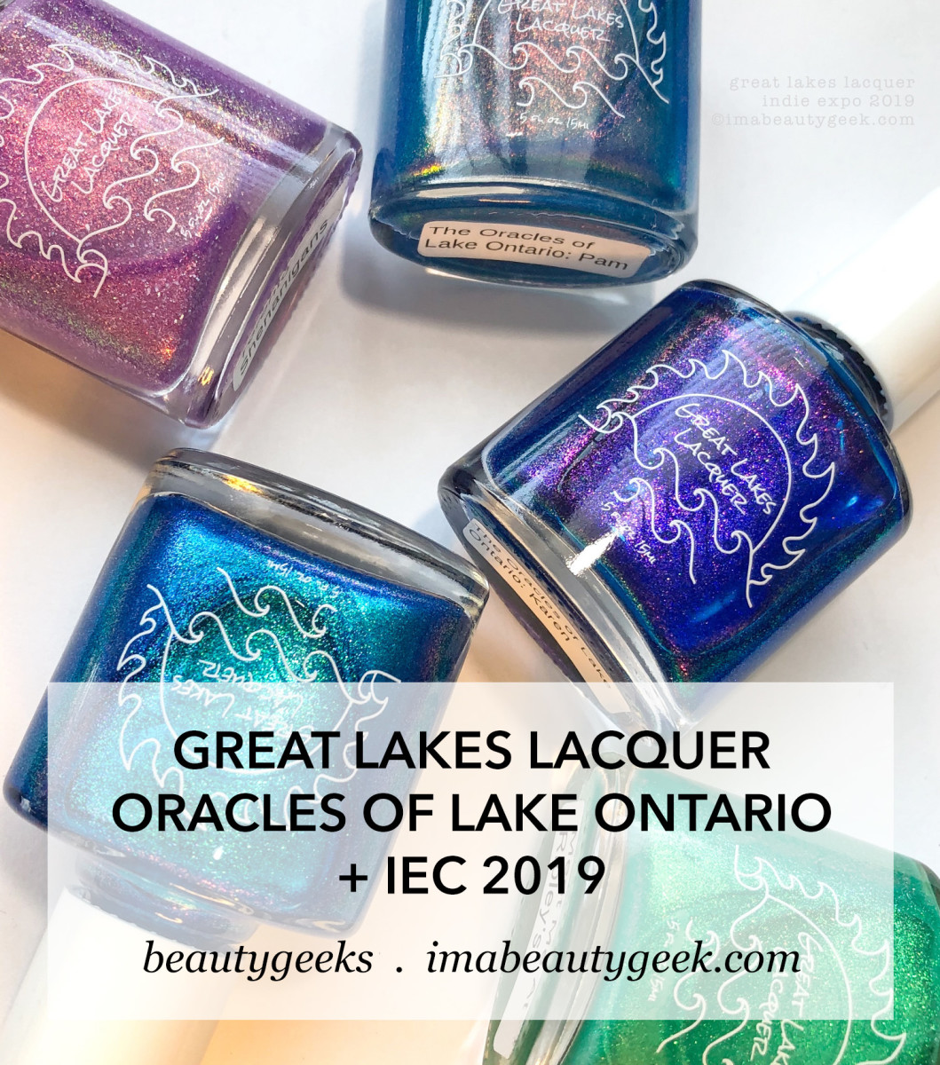 Great Lakes Lacquer Oracles of Lake Ontario Indie Expo Canada 2019