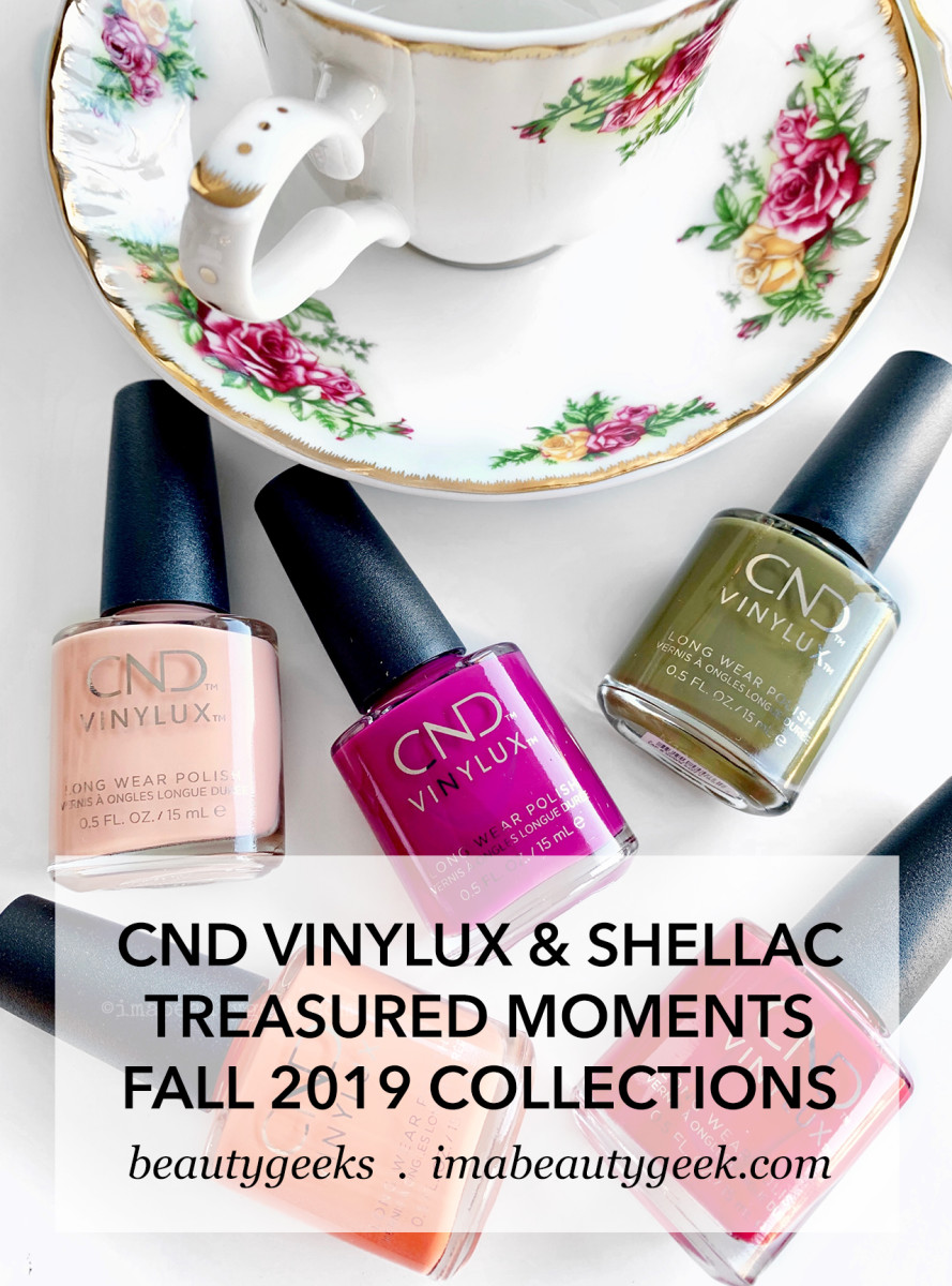 CND Fall 2019 Vinylux and Shellac Treasured Moments