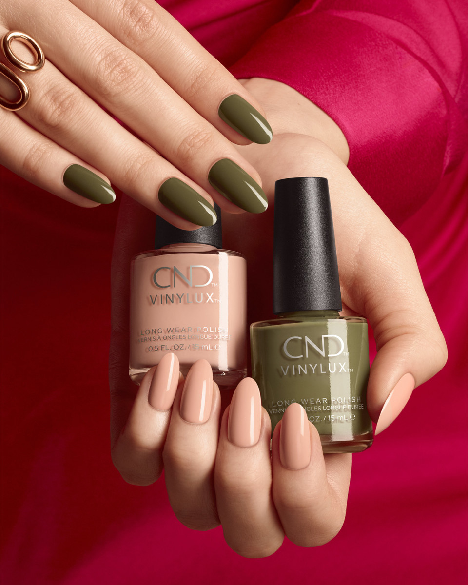 CND Vinylux Cap & Gown and Baby Smile from the Fall 2019 Treasured Moments collection