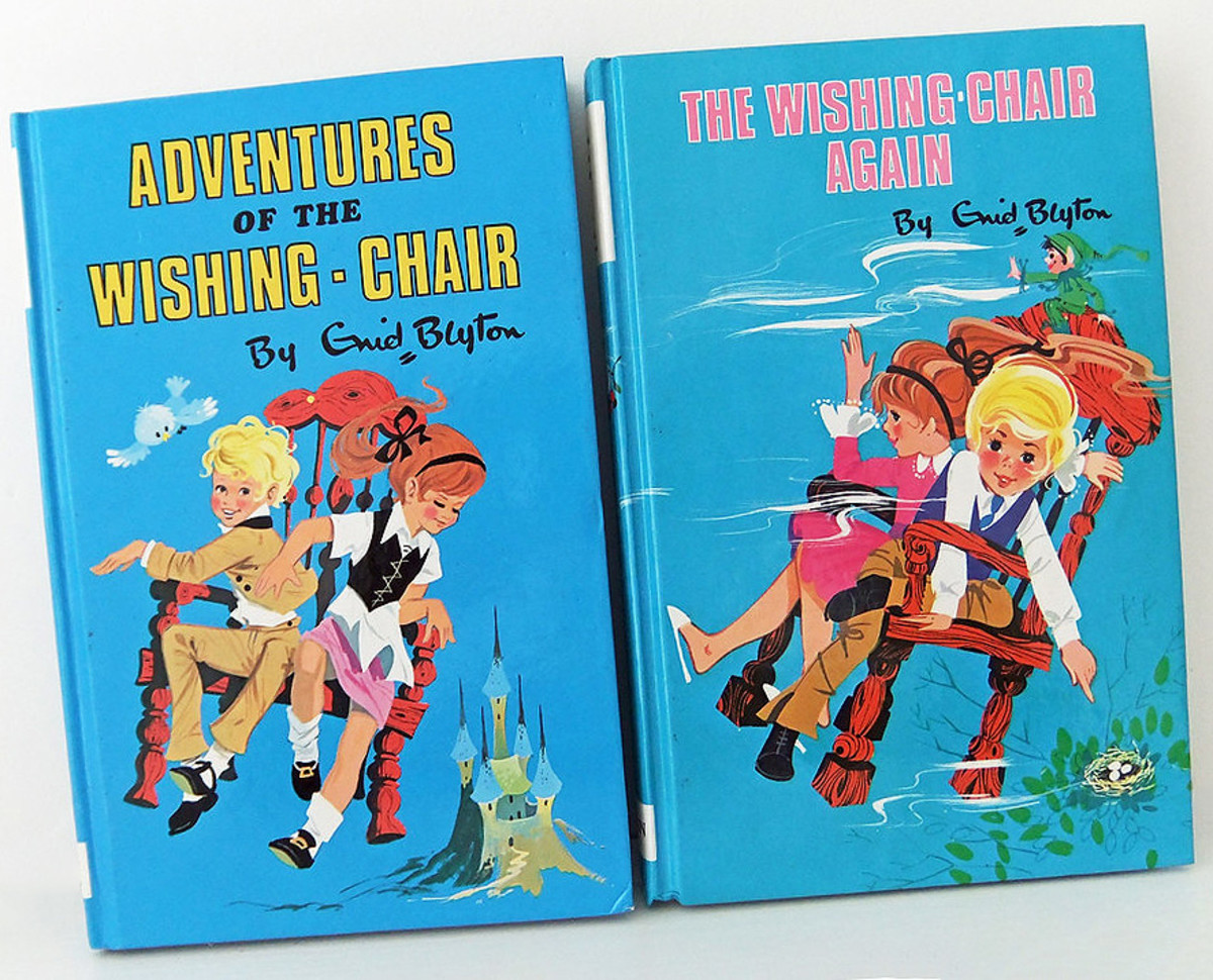 On the left is the edition I had in the early 70s.. I think my copy of the sequel had a different cover. (via Flickr)