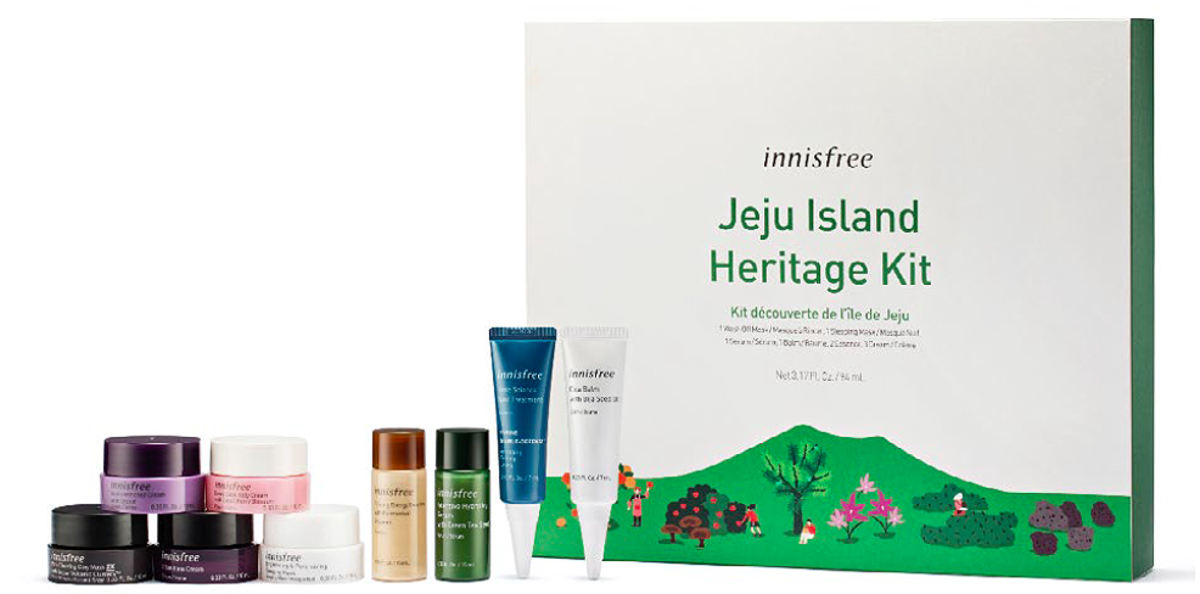 Get this Jeju Island Heritage Kit with a greater-than-$50 spend while supplies last.