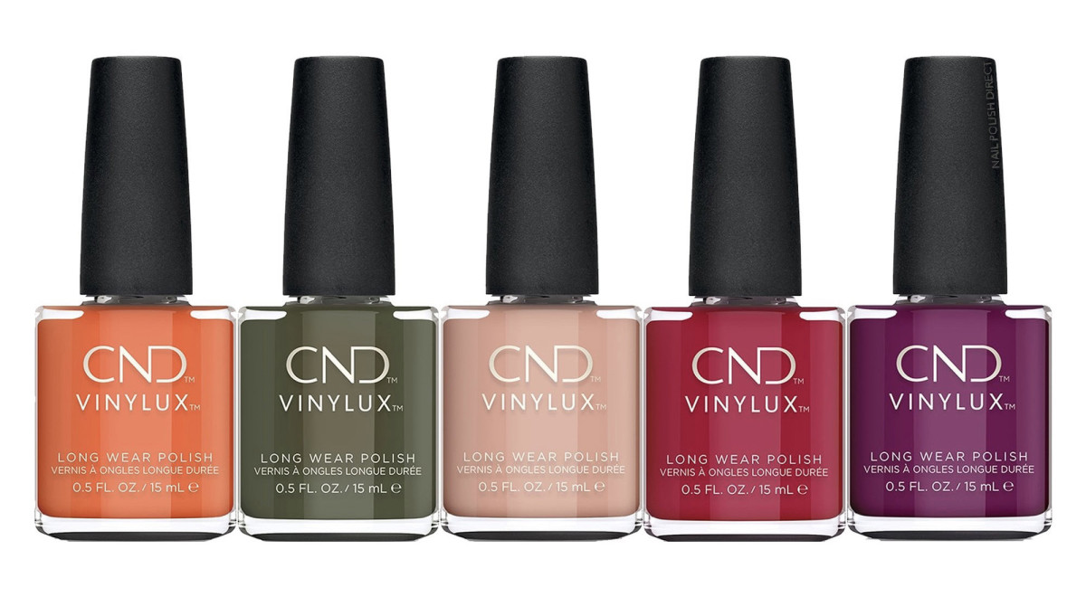 CND B-Day Candle, CND Cap & Gown, CND Baby Smile, CND First Love, CND Secret Diary