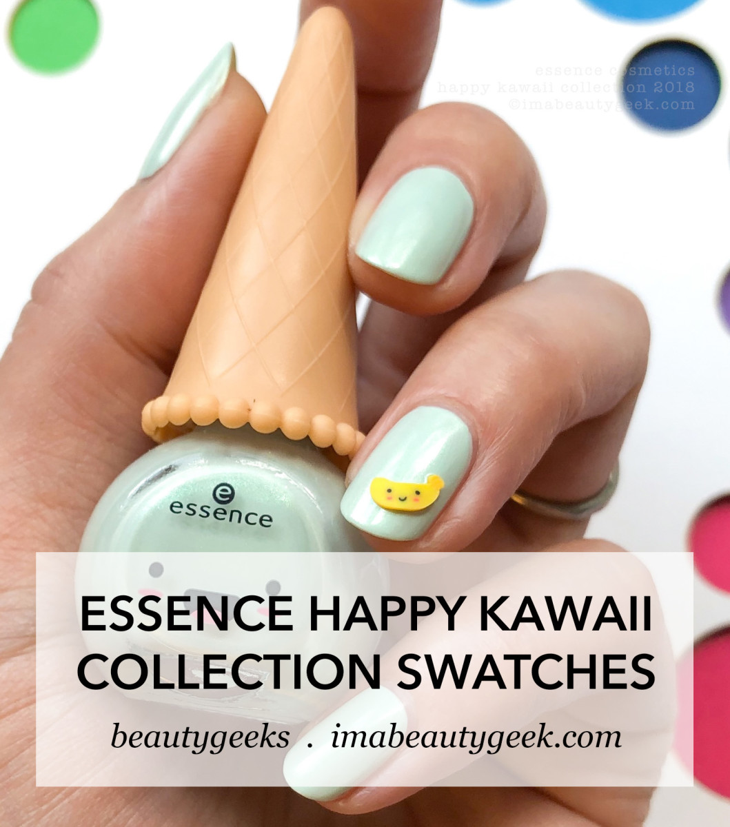 Essence Happy Kawaii Collection Swatches Review