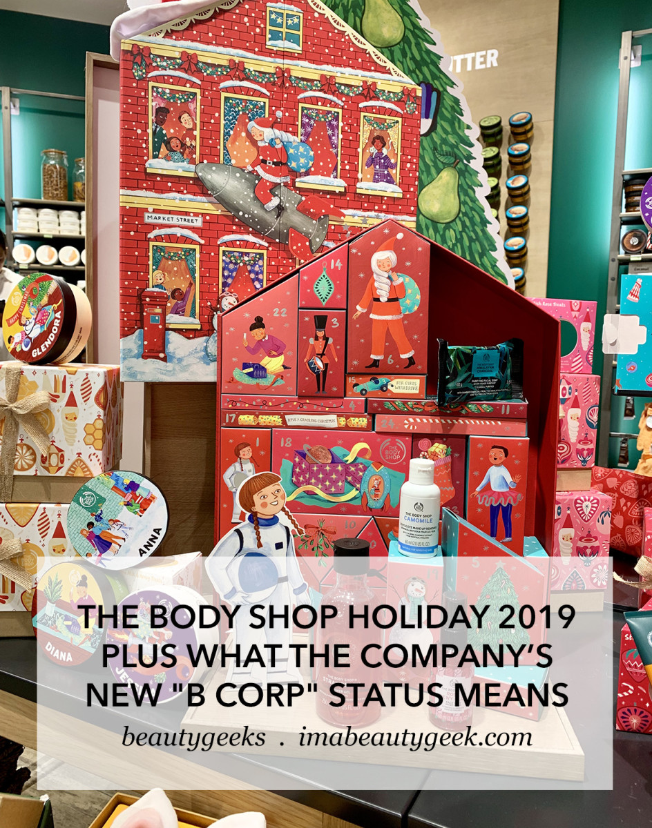The Body Shop Holiday Advent Calendars 2019