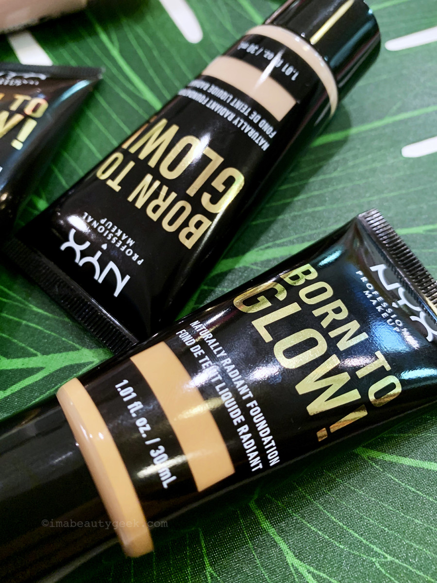 NYX Born to Glow Naturally Radiant Foundation