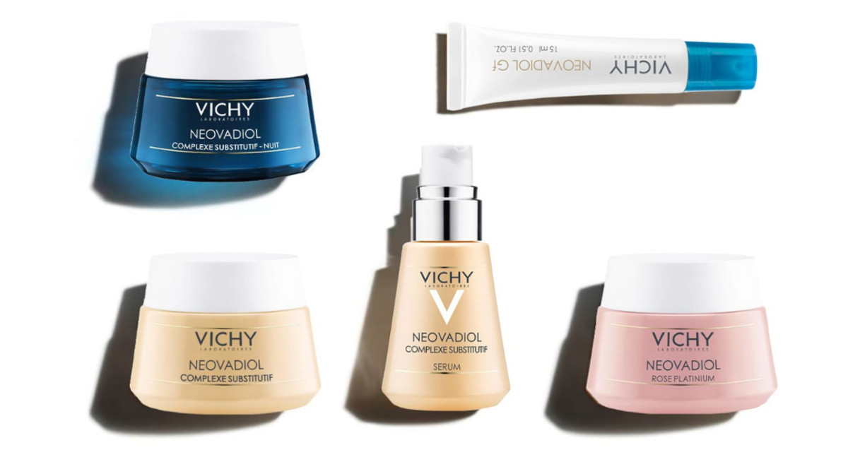 Vichy Neovadiol: designed to address menopause-related changes in skin's density, volume and brightness