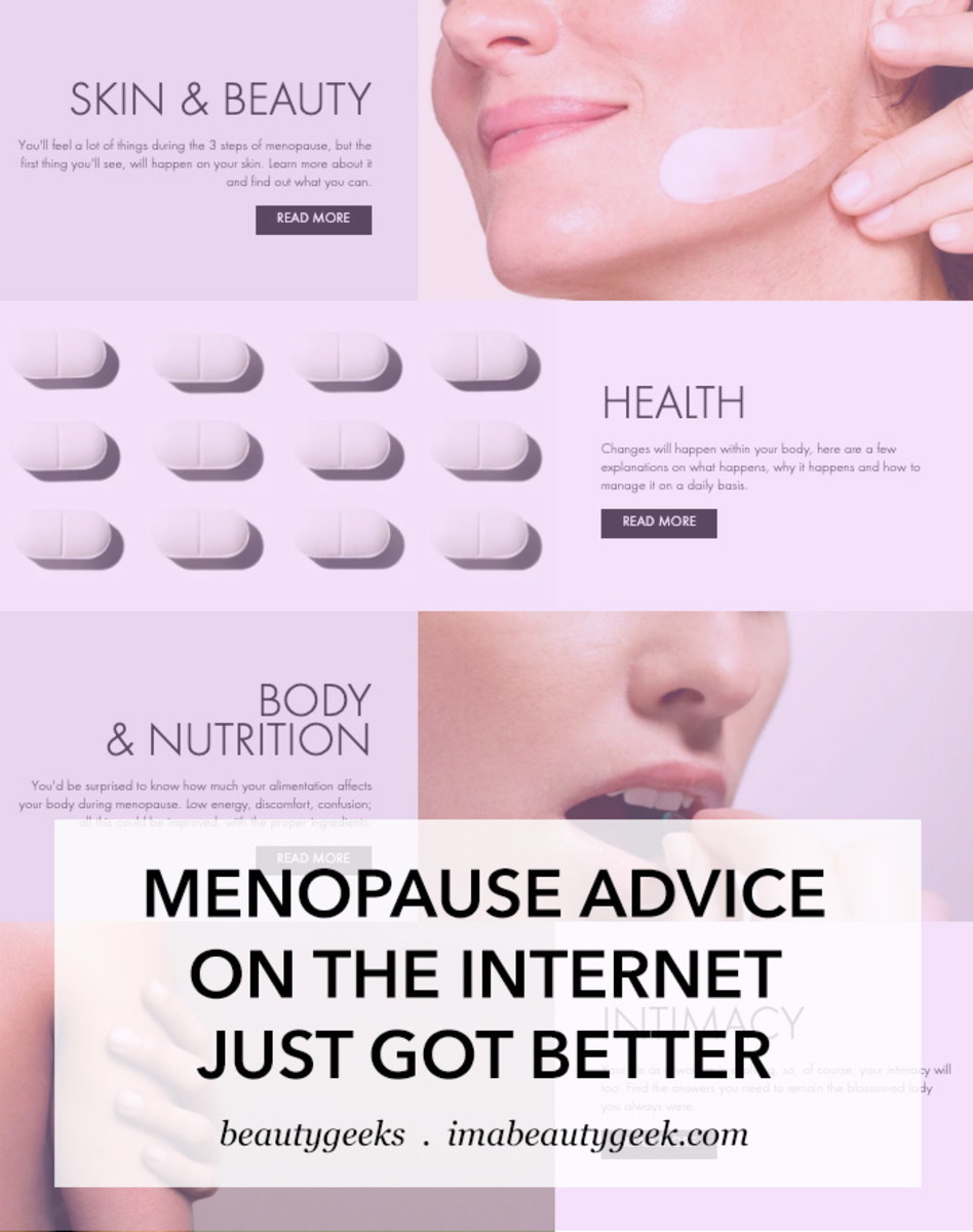 MENOPAUSE ADVICE ON THE NET JUST GOT BETTER