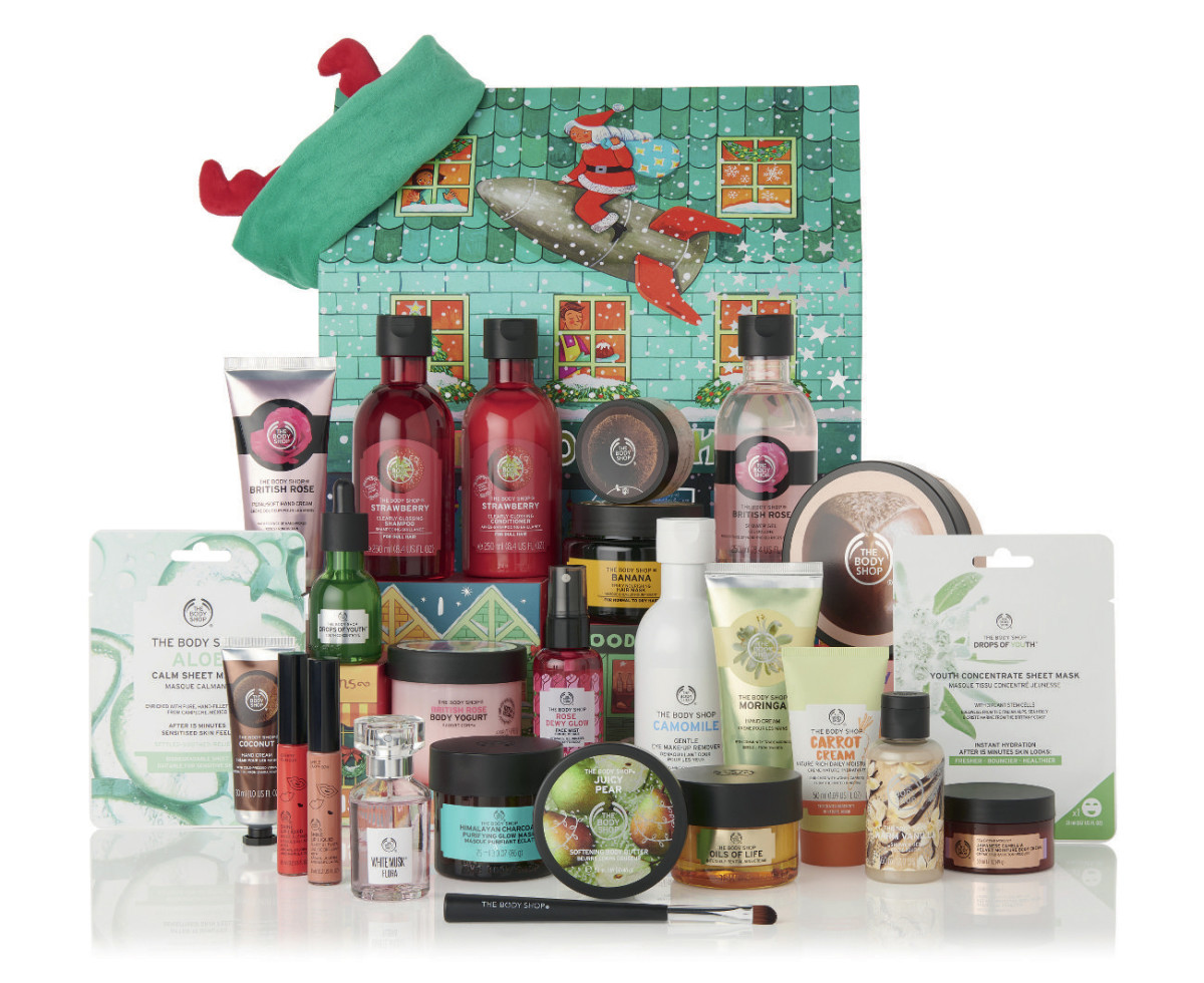 The Body Shop 2019 Dream Big This Christmas Ultimate Beauty Advent Calendar (online only)