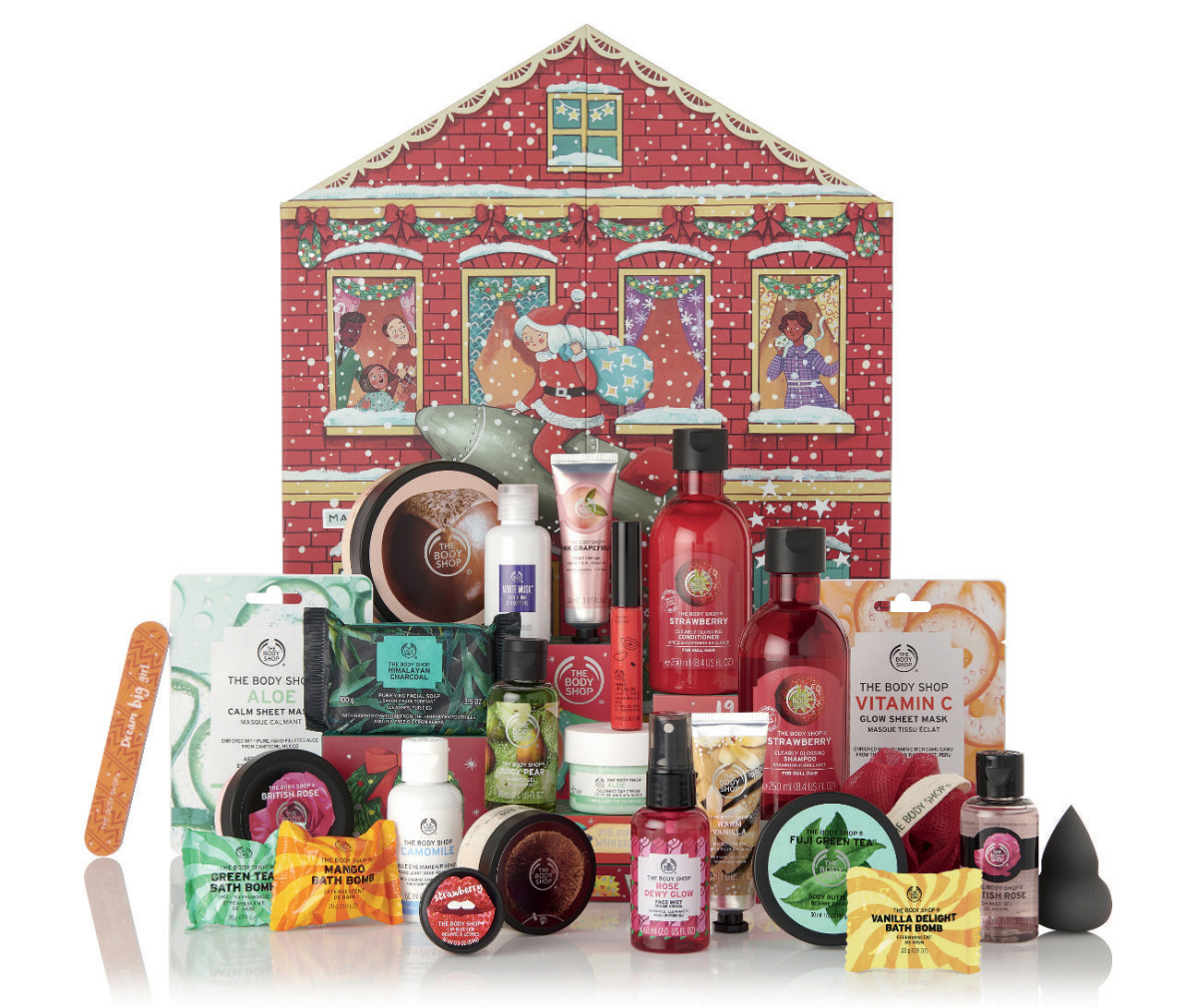 The Body Shop 2019 Dream Big This Christmas Deluxe Beauty Advent Calendar (online only)