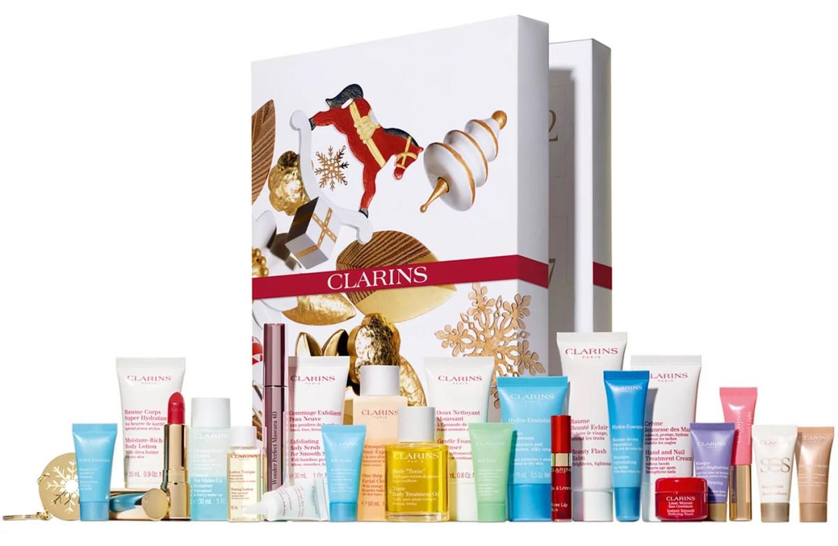Clarins 2019 24-Day Beauty Advent Calendar