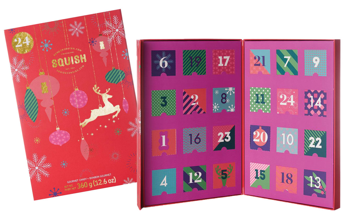 Squish Candies 2019 Advent Calendar – there is also a Vegan option!