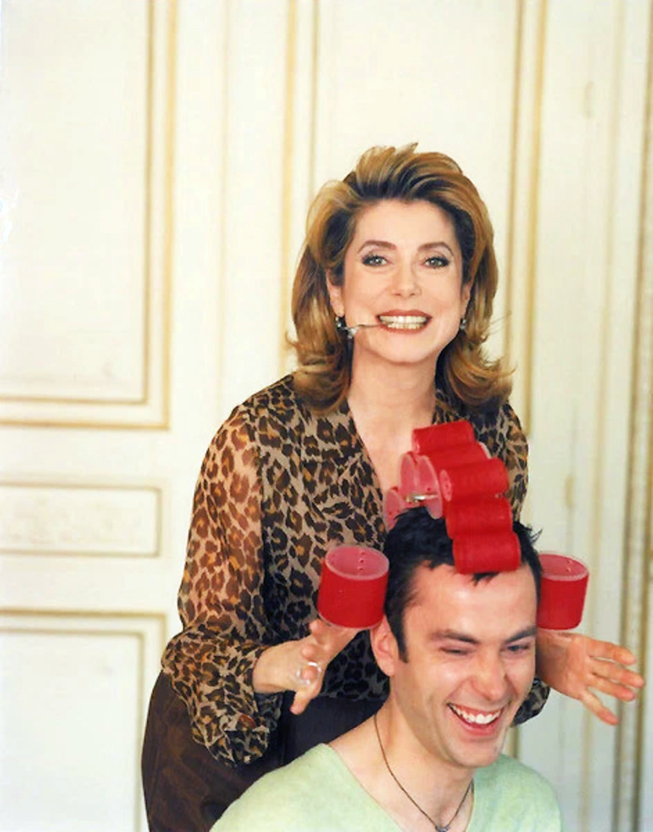 Christophe Robin has been working with Catherine Deneuve since the mid-90s
