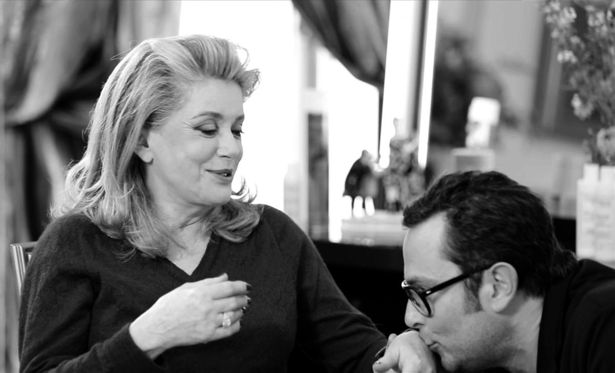Catherine Deneuve and Christophe Robin