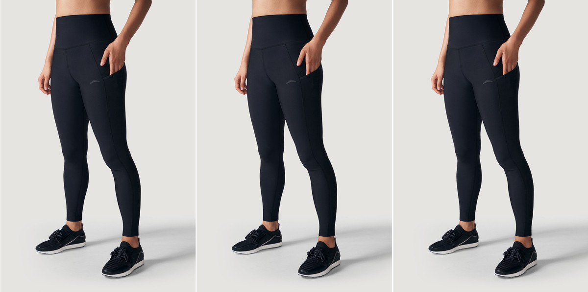 TMPL Taproot compression-fit leggings with pocket; $1 from each purchase goes to One Tree Planted