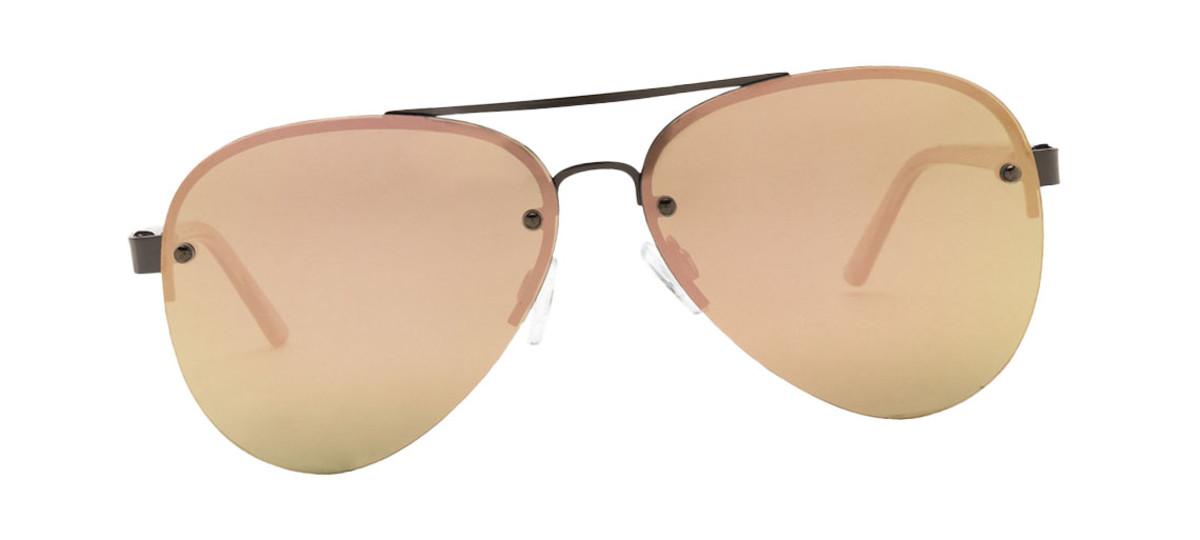 Lucky Brand Avalon Aviator Sunglasses