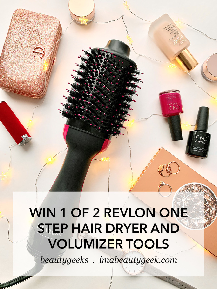 Revlon One Step Hair Dryer & Volumizer giveaway