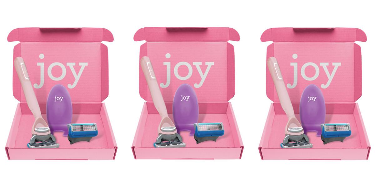 Joy Razor Starter Kits via joyshave.ca and joyshave.com