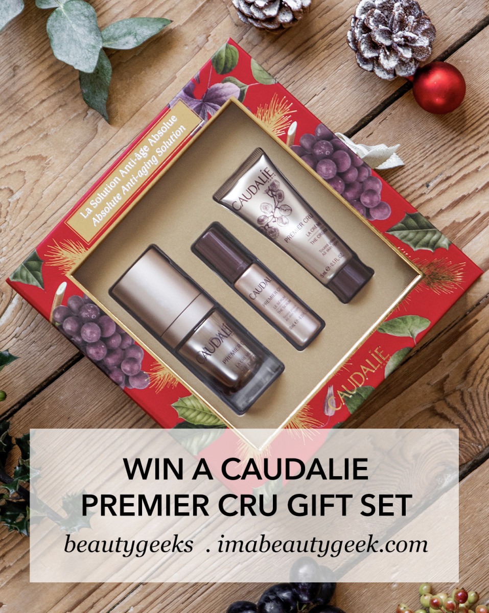 Win a Caudalie Premier Cru skincare gift set