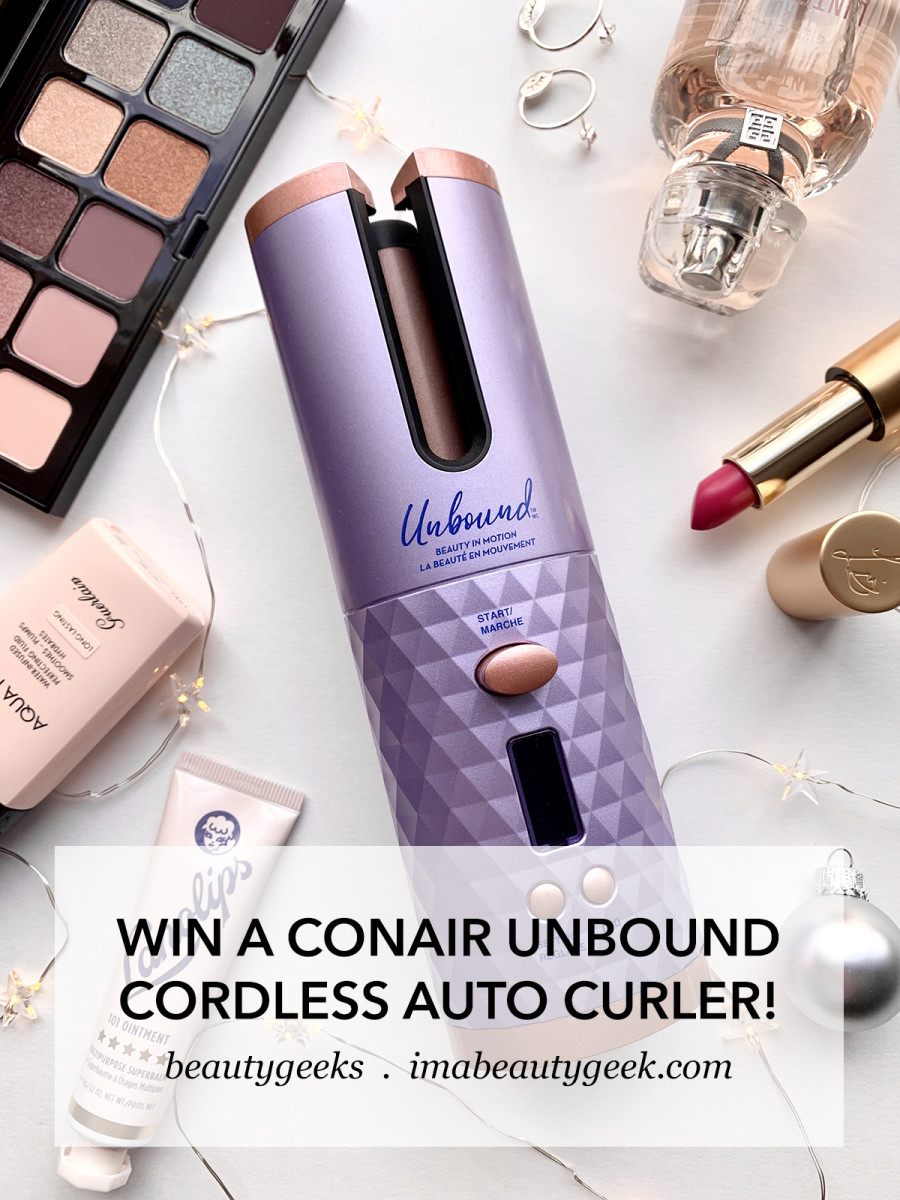 Conair Unbound Cordless Auto Curler givewaway