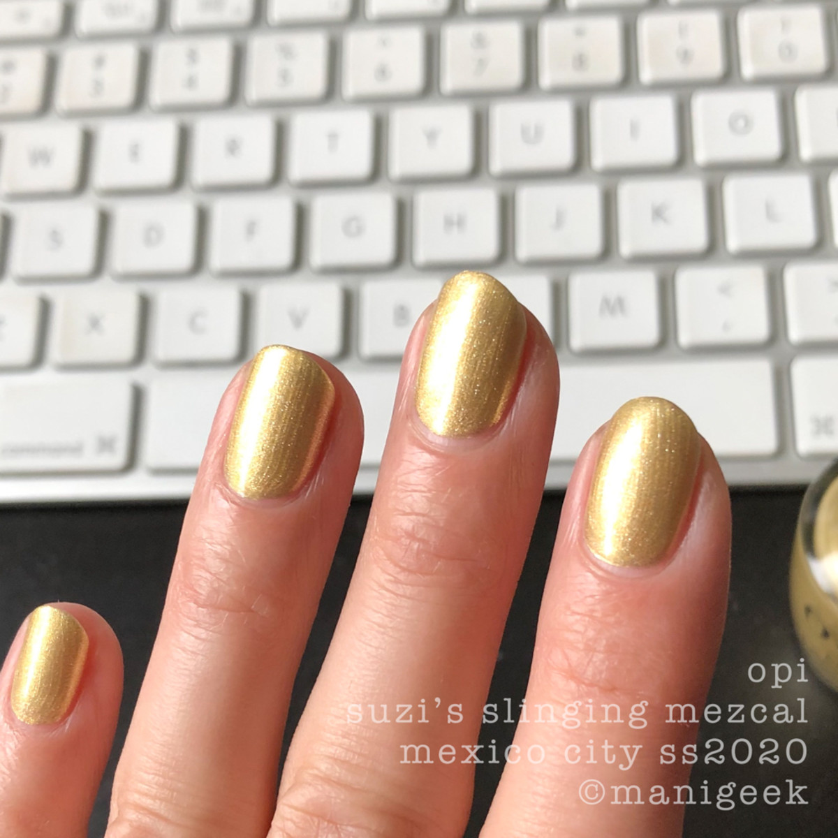 OPI Suzi's Slinging Mezcal - OPI Mexico City Swatches Review 2020