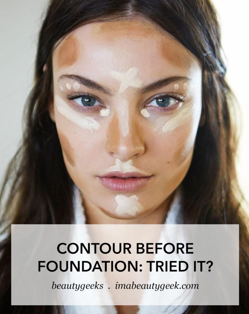contour before foundation