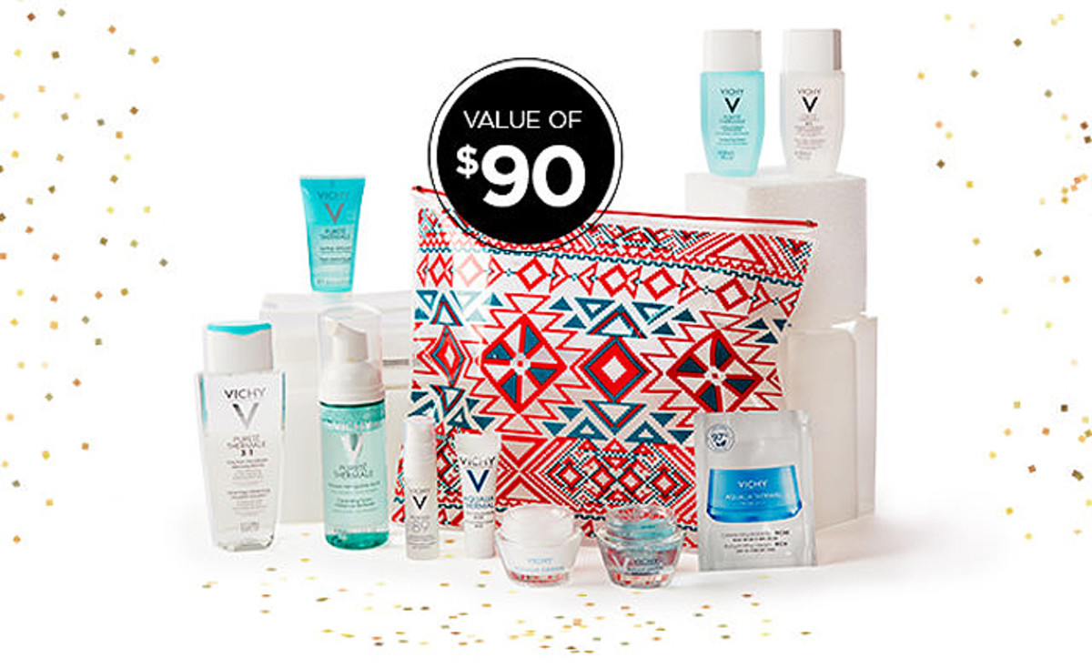 Vichy gift with purchase when you spend $70 or more; 25% Black Friday discount on everything