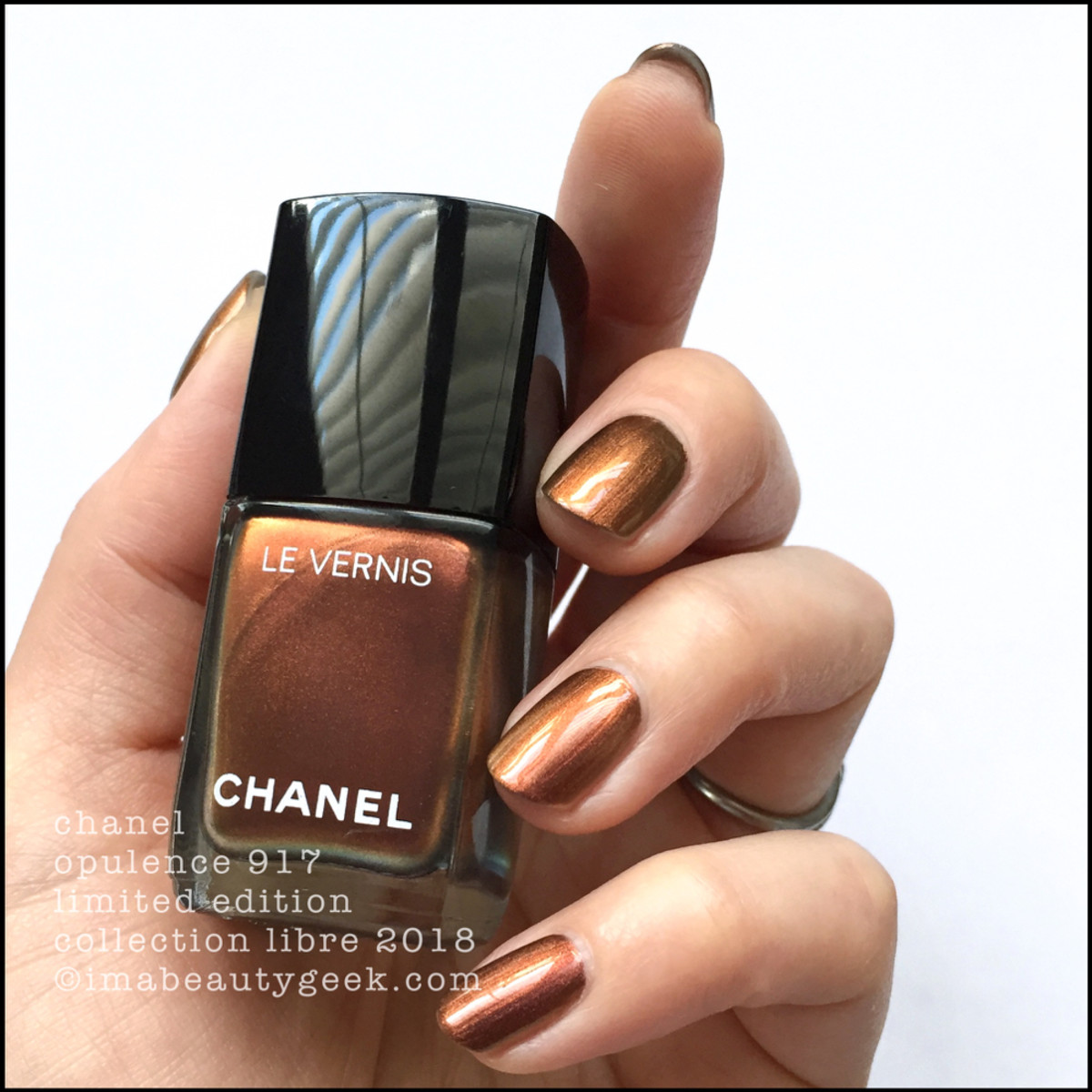 Chanel Opulence 917 Le Vernis - Chanel Collection Libre 2018 Nail Polish