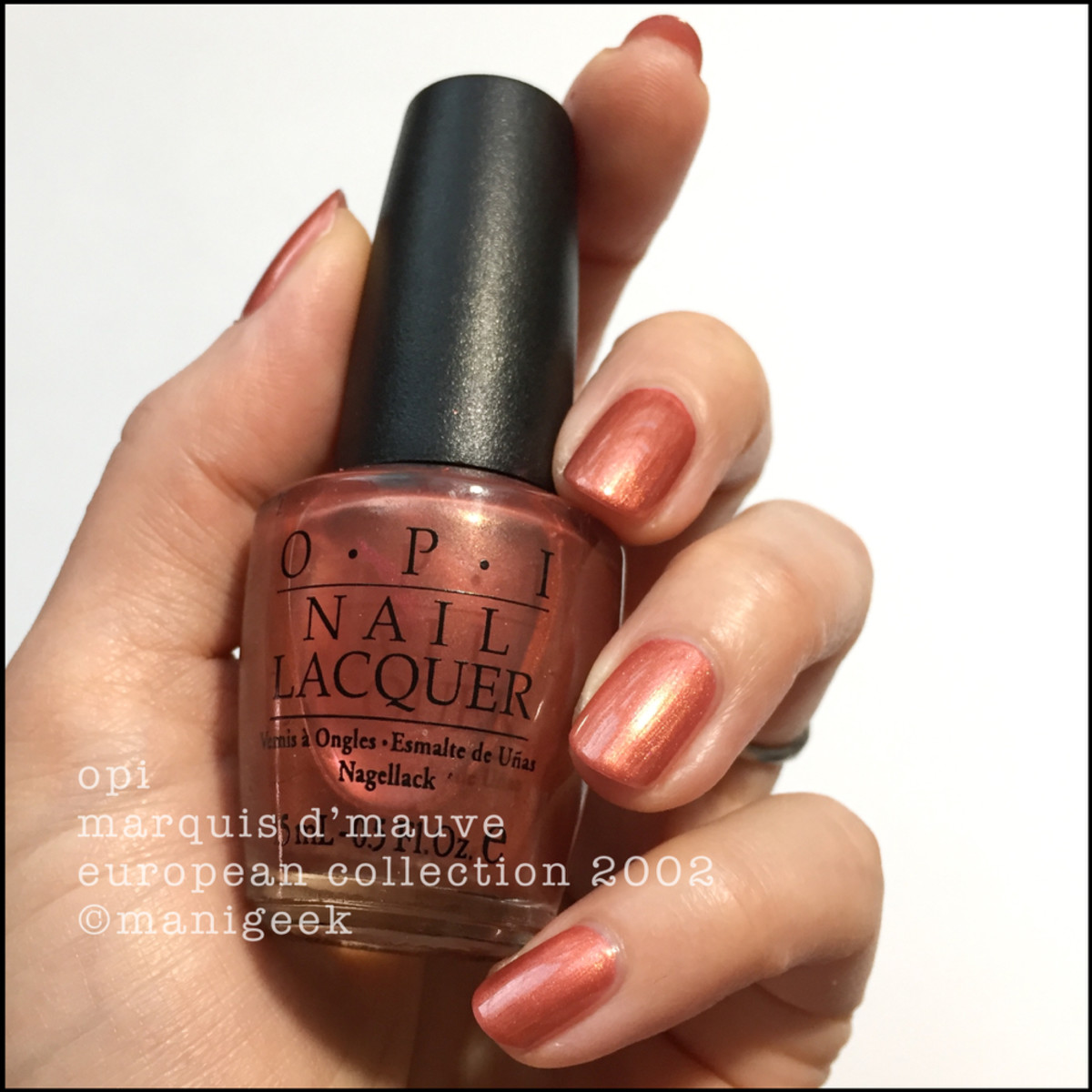 OPI Marquis D'Mauve - OPI European Collection 2002