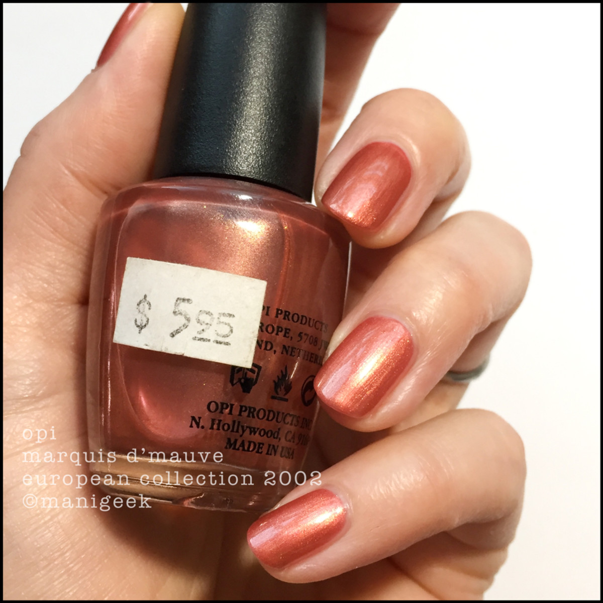 OPI Marquis D'Mauve - NL E11 OPI European Collection 2002