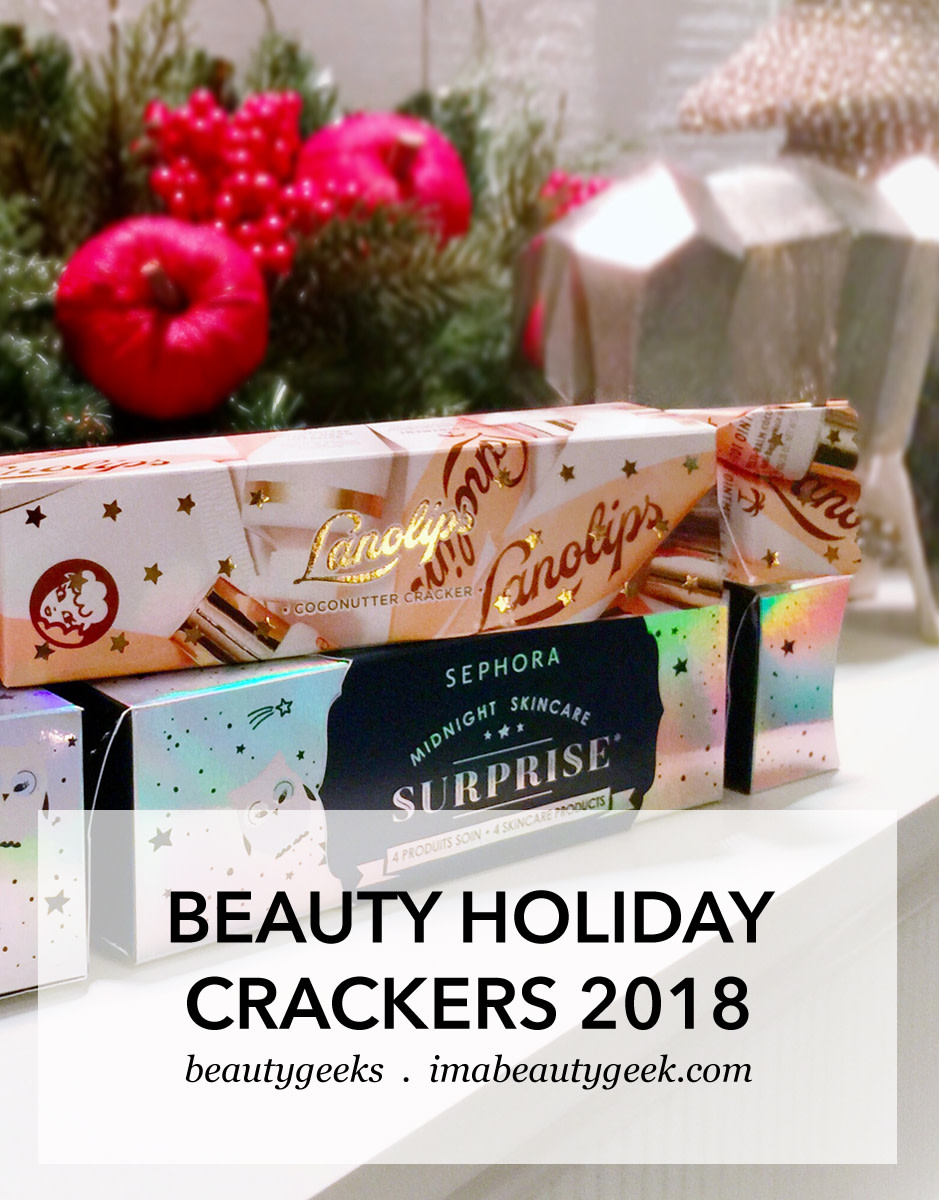 Beauty Holiday crackers or Christmas crackers 2018