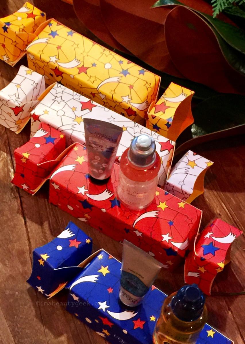 L'Occitane Christmas Crackers set 2018
