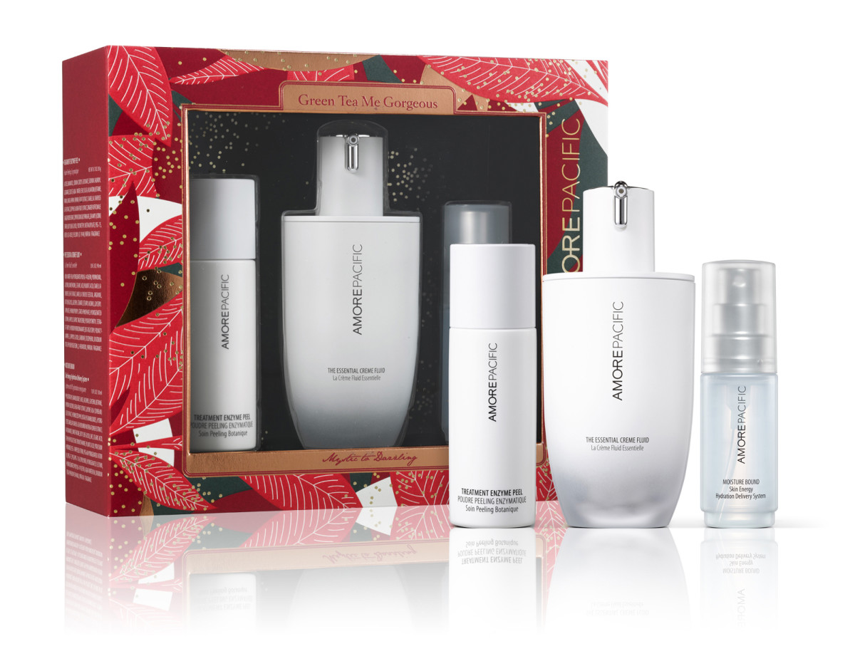 AmorePacific Green Tea Me Gorgeous gift set ($130 CAD; value $160 CAD)