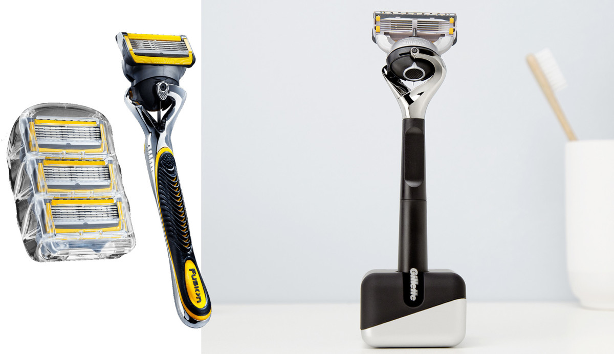 Gillette On Demand Fusion ProShield blades and razor; limited-edition Gillette Fusion ProShield razor