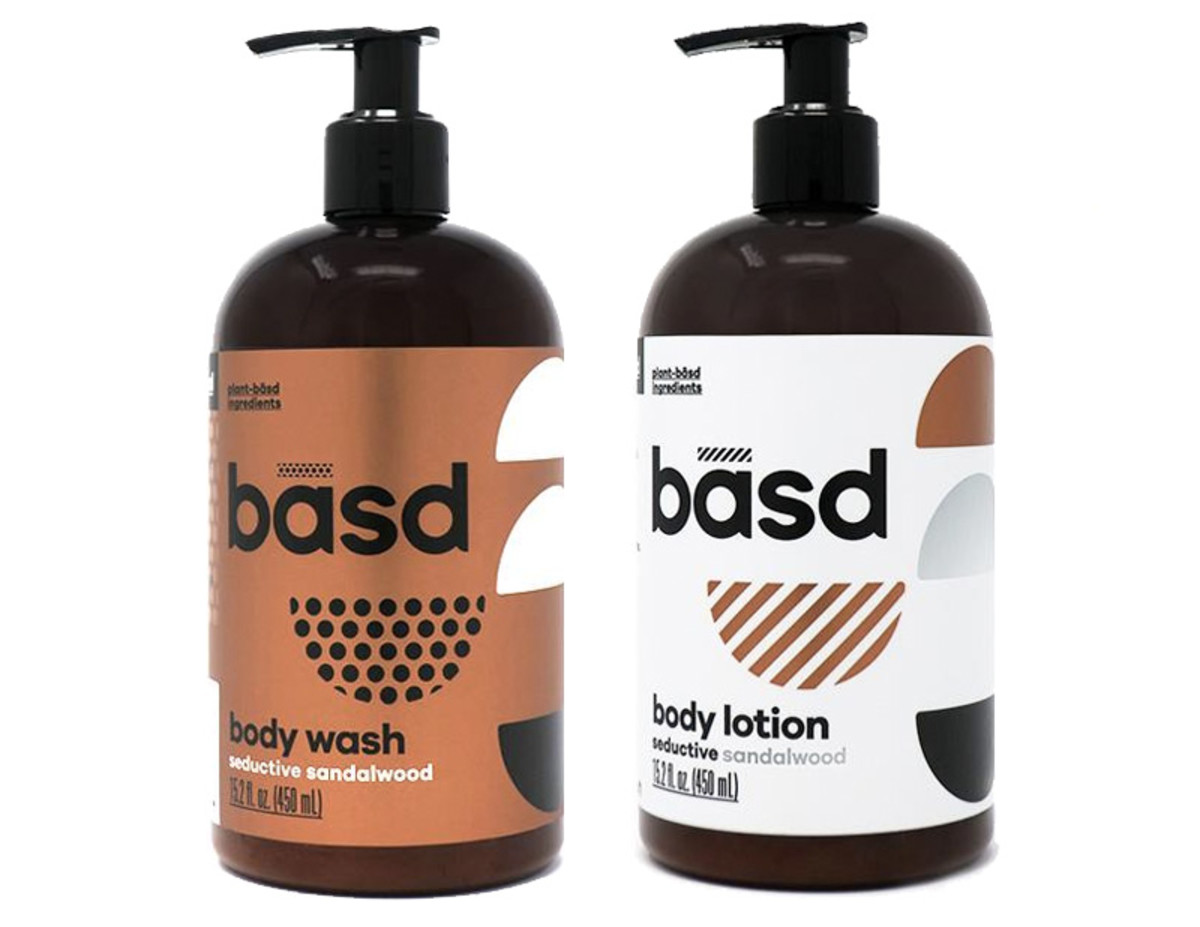 basd Body Wash and Lotion in Seductive Sandalwood