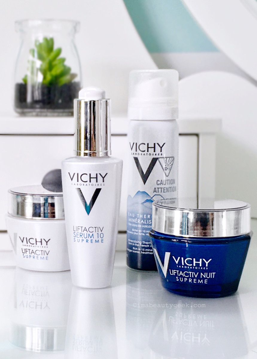 Win Vichy LiftActiv Supreme 10 Serum, LiftActiv Supreme and LiftActiv Nuit Supreme