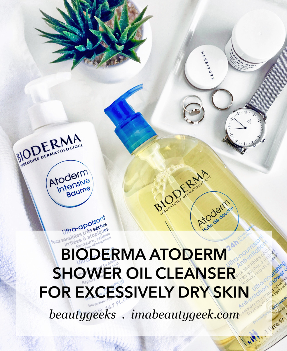 Bioderma Atoderm Shower Oil cleanser for excessively dry skin