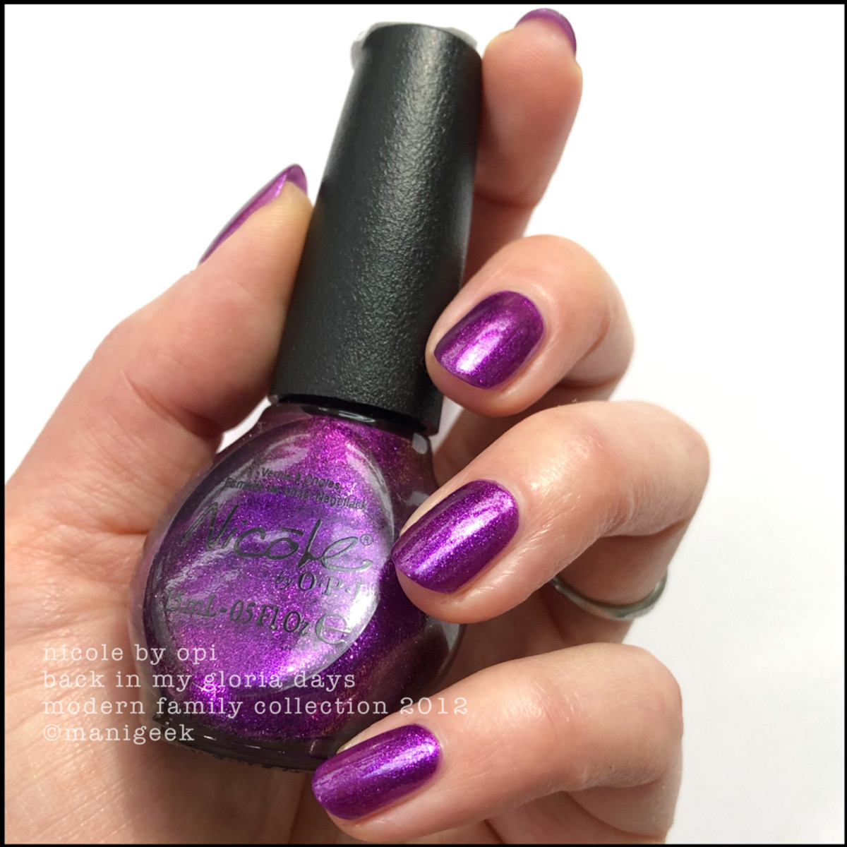 Nicole by OPI Back in my Gloria Days - Modern Family Collection 2012