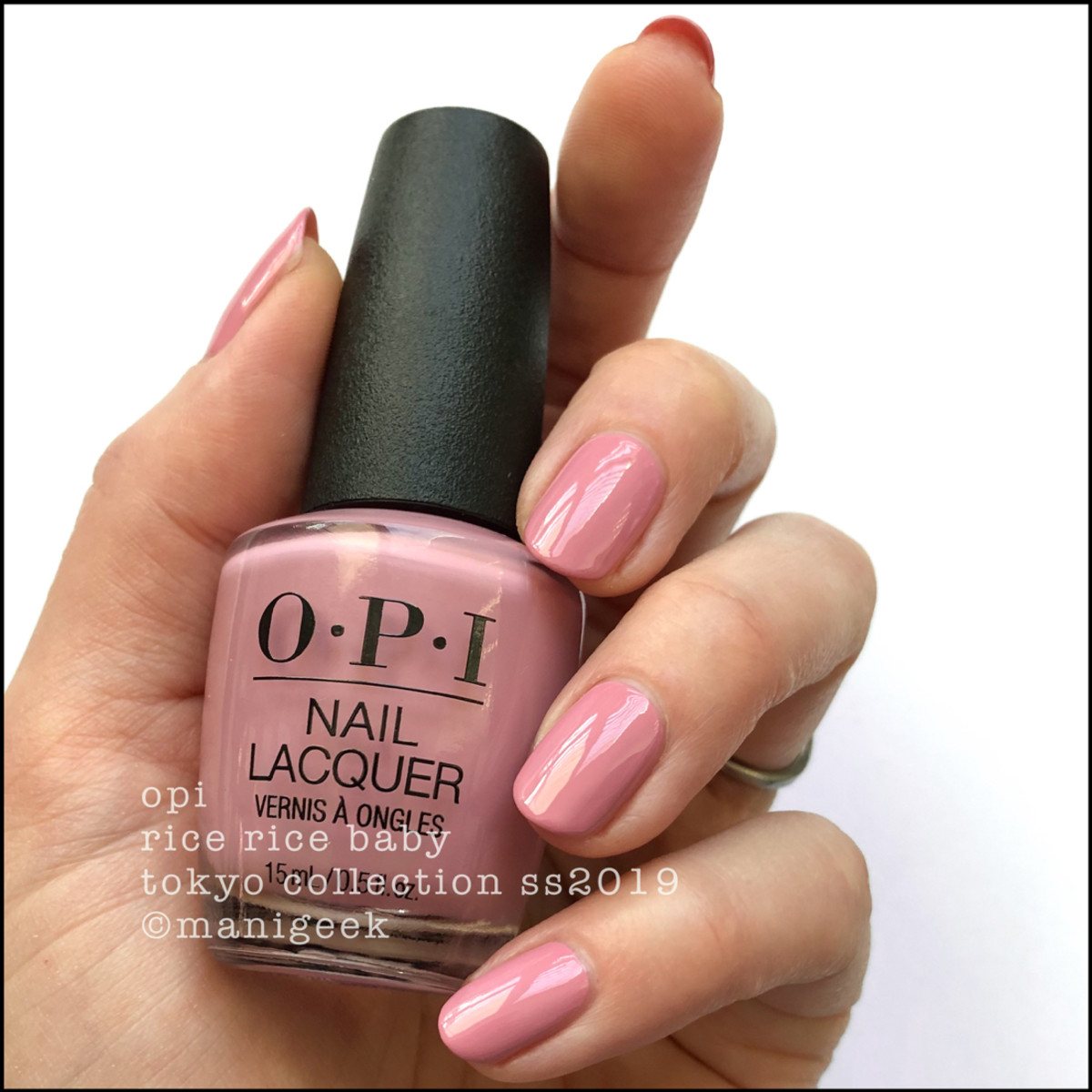 OPI Rice Rice Baby - OPI Tokyo Swatches 2019