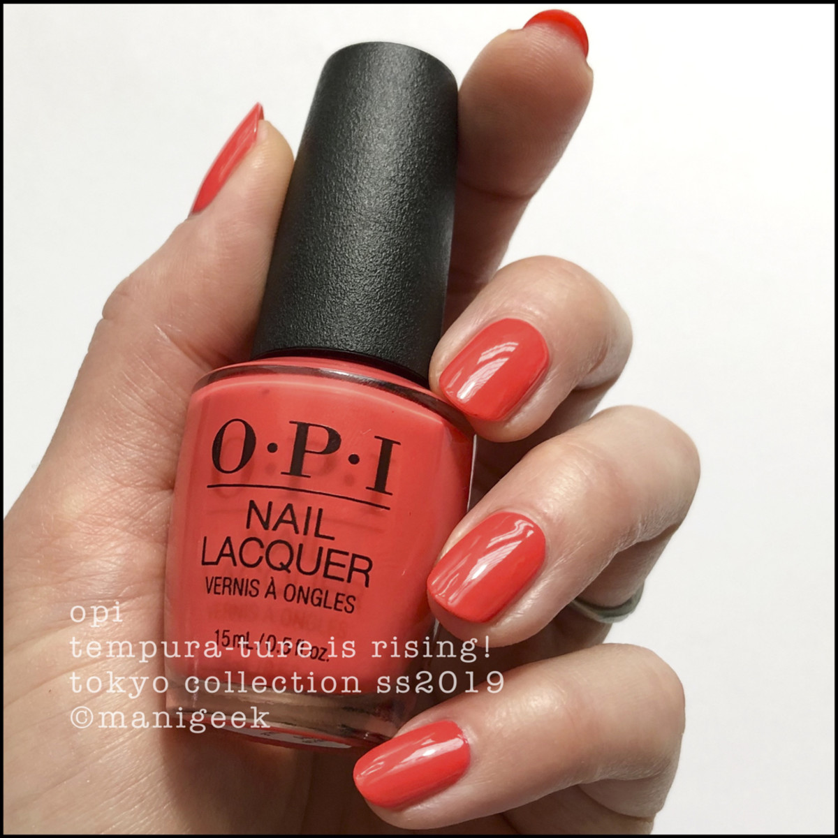 OPI Tempura-ture is Rising - OPI Tokyo Swatches 2019