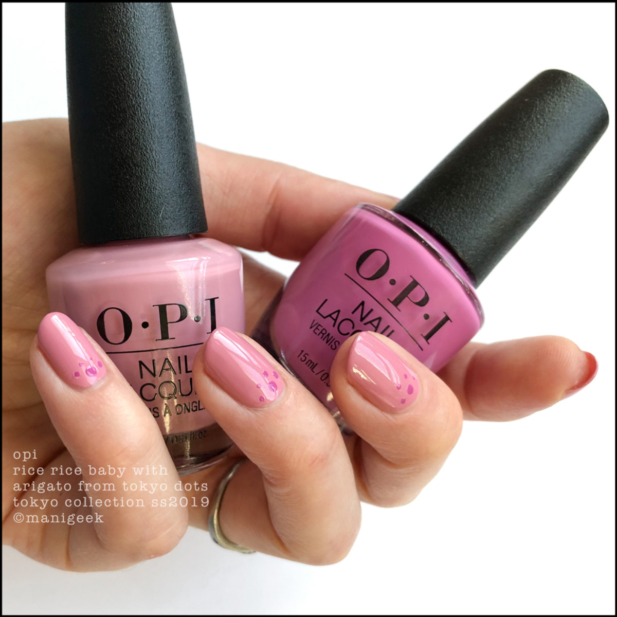 OPI Rice Rice Baby with Arigato From Tokyo - OPI Tokyo 2019