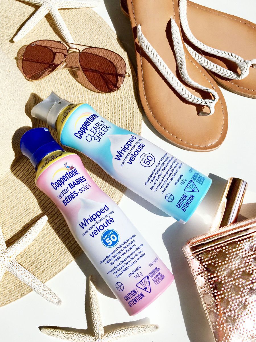 Coppertone Water Babies Fragrance-Free and Clearly Sheer Whipped Sunscreen SPF 50