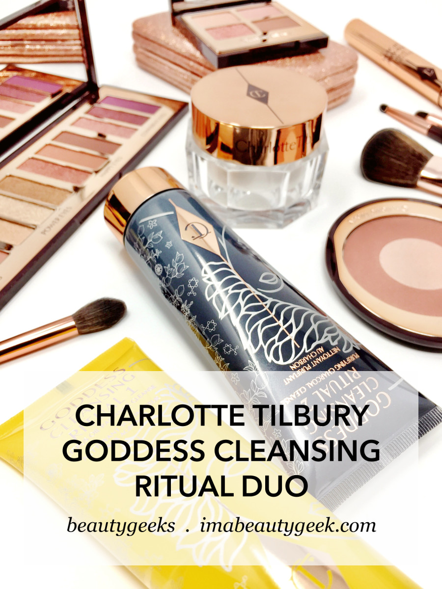 Charlotte Tilbury Goddess Cleansing Ritual Duo