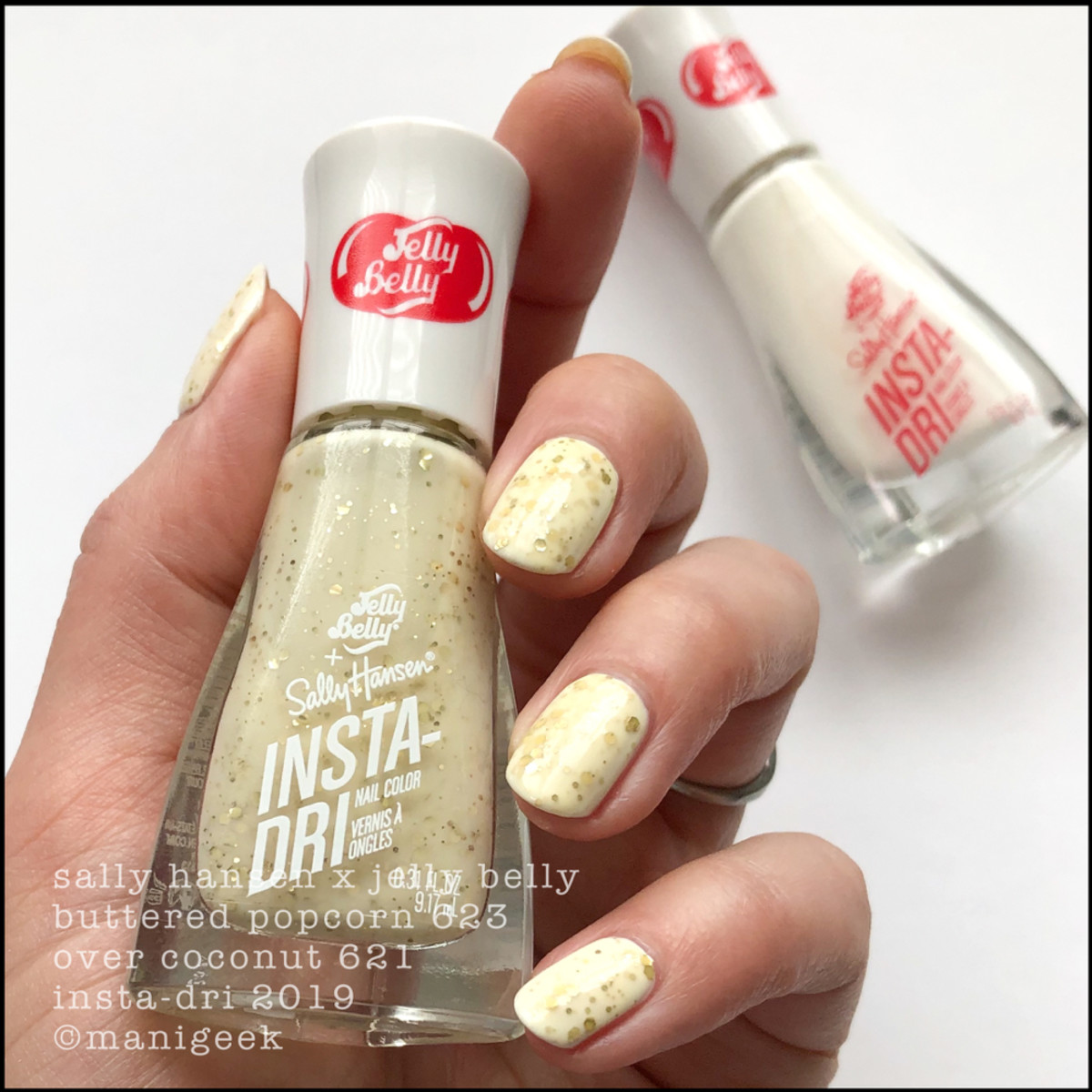 Sally Hansen Jelly Belly Buttered Popcorn _ Sally Hansen Jelly Belly Nail Polish Swatches 2019