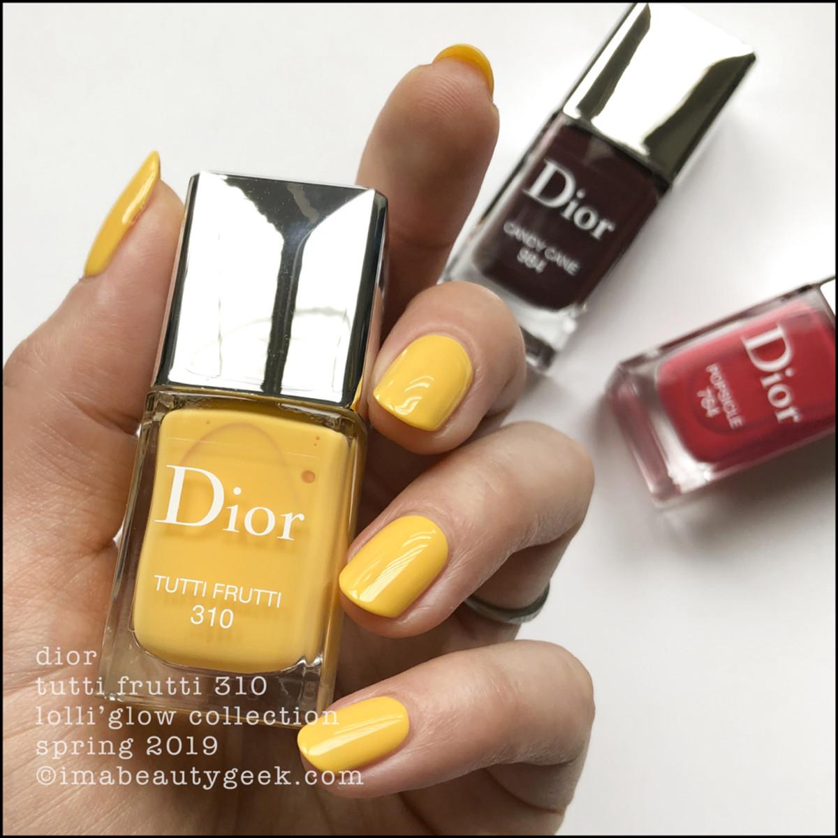Dior Tutti Fruitti 310 - Dior Lolli'Glow Swatches Spring 2019
