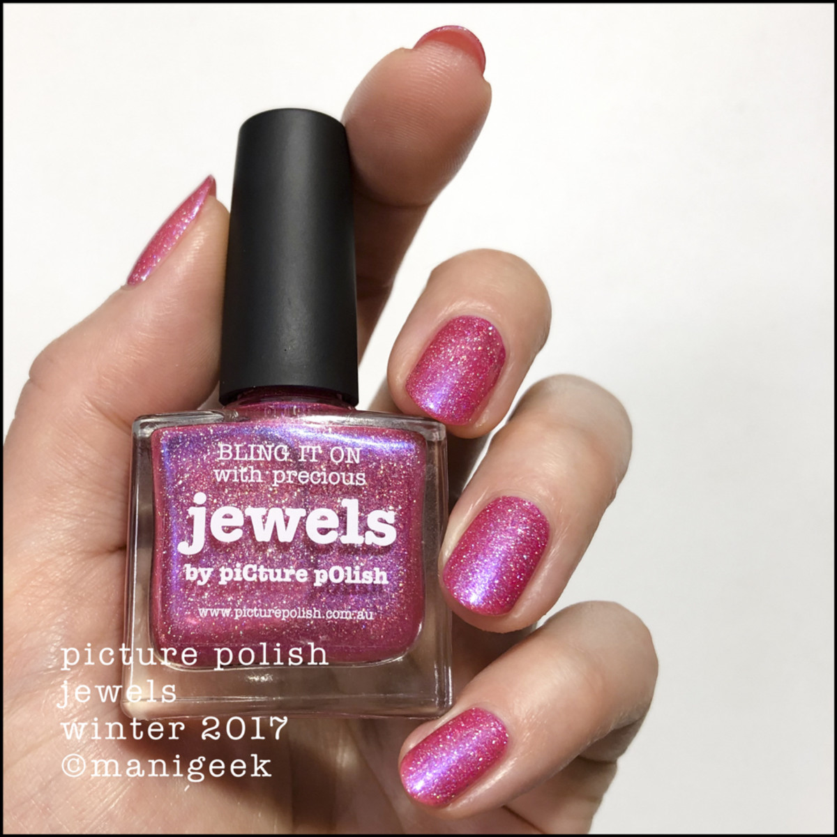 Picture Polish Bling it on with Precious Jewels Winter 2017